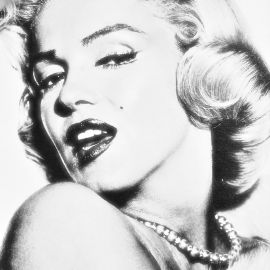 Σταρ του cinema Merilyn Monroe