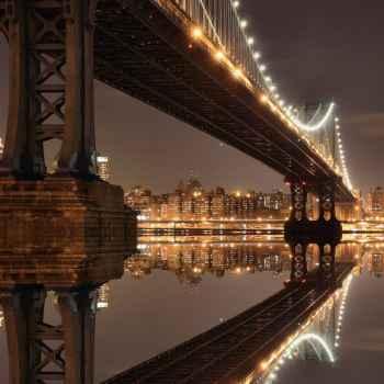 Γέφυρα στο Μανχάταν Νέα Υόρκη