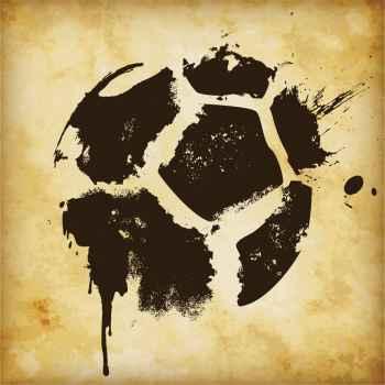Αφηρημένη μπάλα ποδοσφαίρου