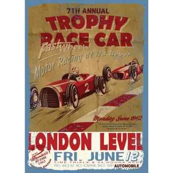 Παλιά εικόνα με αγωνιστικά αμάξια