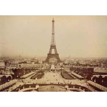 Παλιά εικόνα του Παρισιού - Πύργος του Αϊφελ