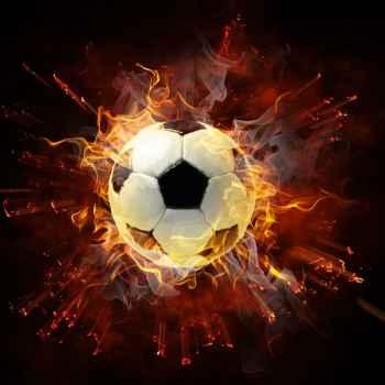 Εκρηκτική μπάλα ποδοσφαίρου