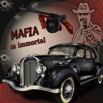 Παλιά αφίσα - Μαφία