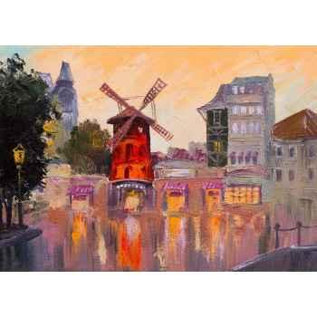 Moulin rouge - ελαιογραφία
