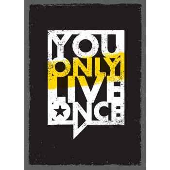 Φράση - Ζεις μόνο μία φορά
