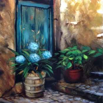 Παλιά ζωγραφισμένη εικόνα