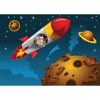 Πύραυλος με αστροναύτη στο διάστημα