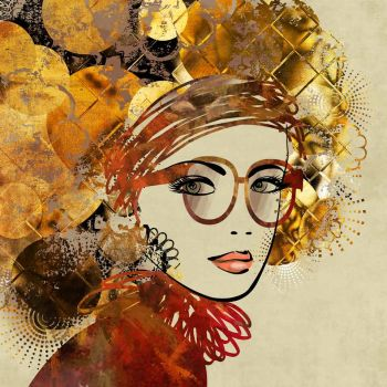 Ζωγραφισμένη κοπέλα