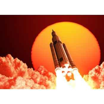 Πύραυλος στο διάστημα