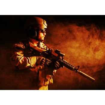 Στρατιώτης στην φωτιά