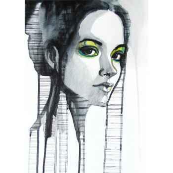 Πορτρέτο όμορφου κοριτσιού