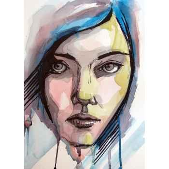 Χρωματιστό πορτρέτο
