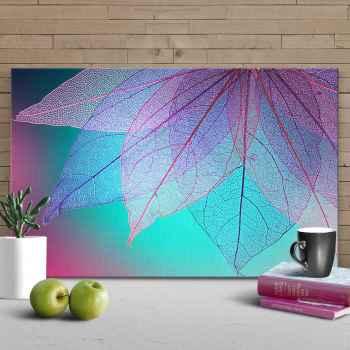 Διαφανές πολύχρωμα φύλλα