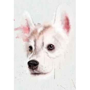 Πορτρέτο σκύλου χάσκυ