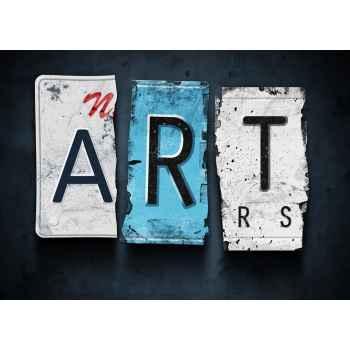 Η λέξη art από πινακίδες αυτοκινήτων