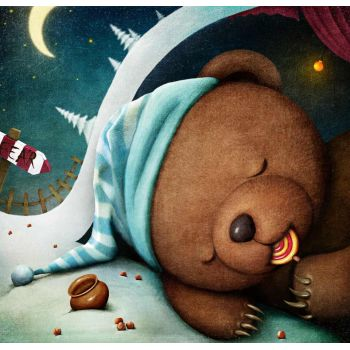 Αρκουδάκι που κοιμάτε