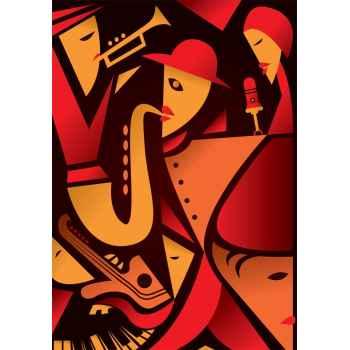 Αφηρημένη jazz τέχνη