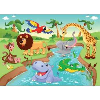 Ζώα της Αφρικής στην ζούγκλα