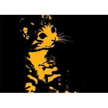 Σιλουέτα γάτας