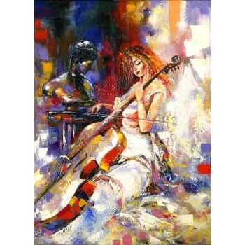 Ένα κορίτσι παίζει βιολοντσέλο
