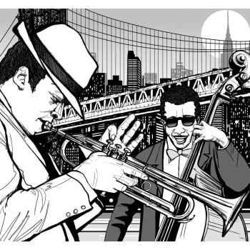 Μουσικοί της jazz στην Νέα Υόρκη
