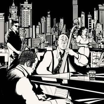 Jazz πάντα παίζει μουσική στην Νέα Υόρκη