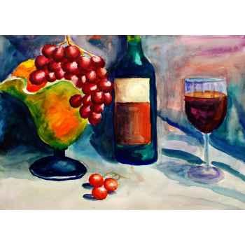Φρούτα και κρασί