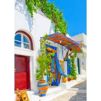 Παραδοσιακά σπίτια στην Αμοργό