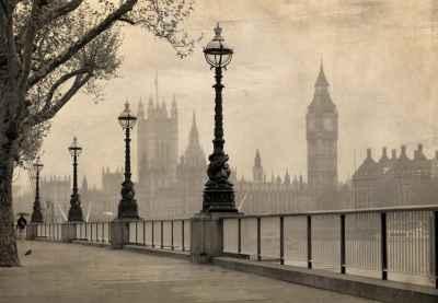 Πεζόδρομος με θέα το Big Ben