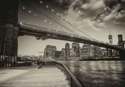 Γέφυρα του Brooklyn στο Μανχάταν