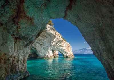 Μπλε σπηλιές Ζακύνθου
