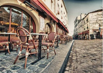 Πεζόδρομος στο Παρίσι