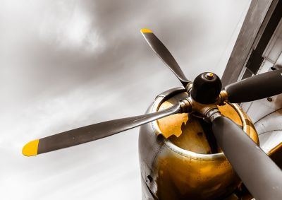 Έλικας παλιού αεροσκάφους