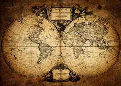 Χάρτης του κόσμου του 1752