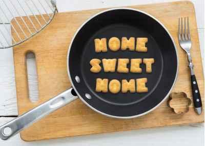 Σχεδιασμένη φράση από μπισκότα
