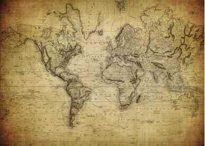Παλιός χάρτης του κόσμου