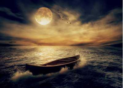Βάρκα στην θάλασσα