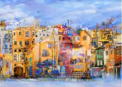 Ζωγραφισμένη πόλη