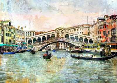 Γέφυρα rialto στην Βενετία