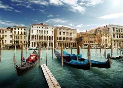 Γόνδολες στην Βενετία
