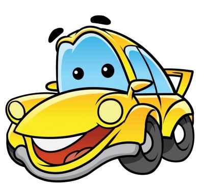 Κίτρινο αυτοκινητάκι