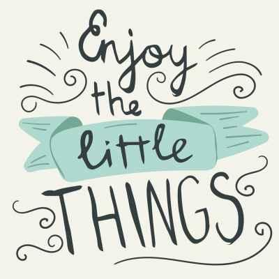 Χαρείτε τις μικρές απολαύσεις