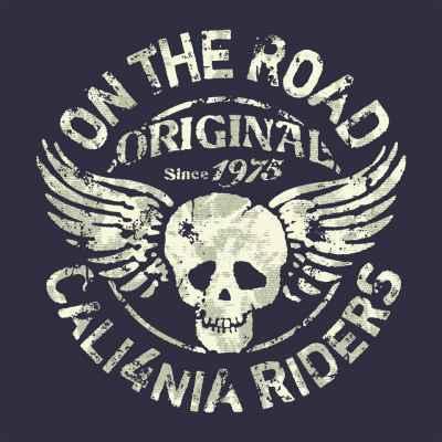 Ομάδα μοτοσικλετιστών στην Καλιφόρνια