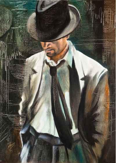 Πορτρέτο ενός άντρα