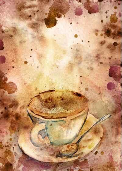 Ένα φλυτζάνι καφέ