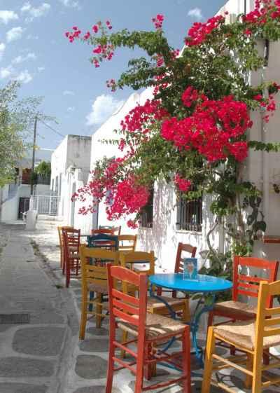 Σοκάκι ελληνικού νησιού