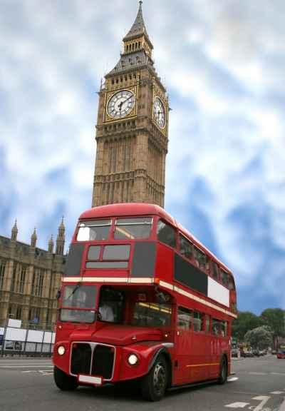 Κλασικό Λονδρέζικο λεωφορείο